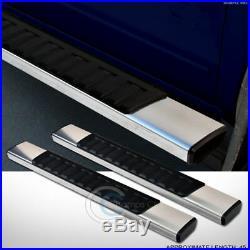 6 Aluminum Side Step Rail Running Boards 07+ Silverado/sierra Regular