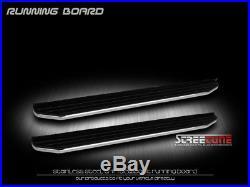 6 Aluminum Stainless Black/Chrome Trim Side Step Running Boards Vp 09+ Traverse