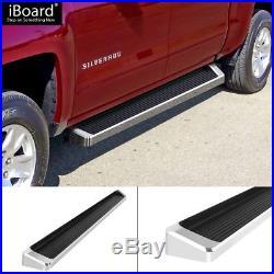 6 iBoard Running Boards Fit 07-18 Chevy Silverado/GMC Sierra Crew Cab