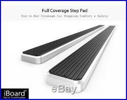 6 iBoard Running Boards Nerf Bars 00-18 Chevy Avalanche/Suburban/GMC Yukon XL