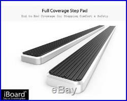 6 iBoard Running Boards Nerf Bars Fit 99-16 Silverado/Sierra Regular Cab