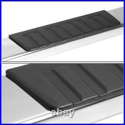 6OE Style Polish Step Bar Running Board for Silverado Sierra Extended Cab 07-19