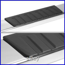 6stainless Steel Step Bar Running Boards For 07-18 Silverado/sierra Crew Cab