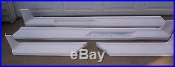 88-98 Chev/gmc Fiberglas Running Boards Ext Cab 8ft Box, Wheel To Wheel