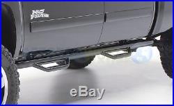 99-06 Silverado/Sierra 1500/2500/3500 Extended Cab 3in Side Step Nerf Bars Black