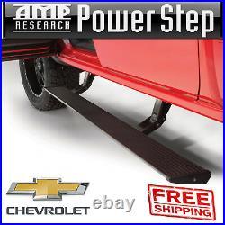 AMP Power Step Electric Step Bars PlugNPlay + Light Kit 14-18 Silverado Sierra