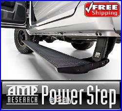 AMP PowerStep Retractable Running Board for 17-19 Silverado Sierra 2500 3500 6.6