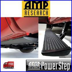 AMP PowerStep Running Boards Lighted & PlugNPlay 2019-2020 Silverado 1500 CC EC