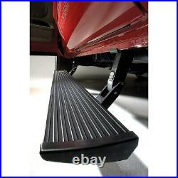 AMP Research Retractable Step Bars Fits 2007-2013 Chevy Silverado 1500 EC CC