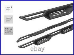 APS Black Running Boards For 2001-2006 Chevy Silverado GMC Sierra 1500 2500 3500