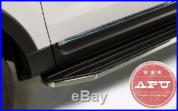 APU 2010-2017 Chevy Equinox Aluminum Running Boards Nerf Bars Side Step Tubes