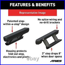 ARIES 3025165 ActionTrac Powered Running Boards