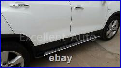 Aluminum running board side step nerf bar fits for Chevrolet Trax 2013-2018 2019
