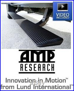 Amp Research Plug-n-Play Power Steps with Light Kit 14-18 Chevy & GMC 1500 Truck