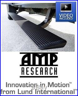 Amp Research Power Steps with Light Kit 14-18 Chevy Silverado & GMC Sierra 1500