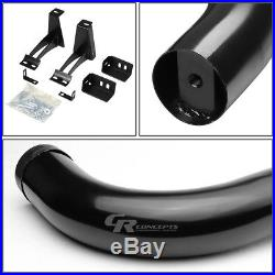 Black 3 Side Step Nerf Bar Running Board For 00-14 Chevy/gmc Tahoe/yukon Suv