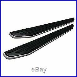Black Horse 18-20 Traverse Enclave Premium Running Boards Black Steps PR-G179