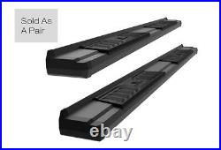 Black Nerf Bar Running Boards For 15-21 Chevy Colorado GMC Canyon Extended Cab