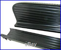 Black Running Boards1947 1948 1949 1950 1951 1952 1953 1954 Chevy GMC Pickup