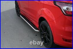 CHEVROLET CAPTIVA onwards 2006 CHROME RUNNING BOARDS SIDE STEPS BAR BOARDS