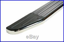 Captiva Raptor Stainless Steel Trim Aluminium Side Steps Bars Running Boards
