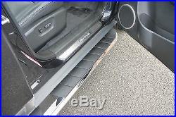 Chevrolet Captiva High Flyer Abs Stainless Steel Side Steps Bars Running Boards