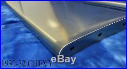 Chevrolet Chevy Car Steel Running Board Set 30 1930 16 Gauge