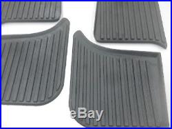 Chevrolet Chevy GMC COE Ribbed Running Board Step Mat Set 1947-1955