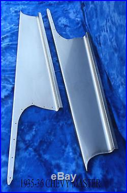 Chevrolet Chevy Master Car Steel Running Board Set 35,36 1935-1936 Made in USA