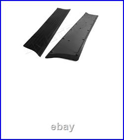 Chevrolet Chevy Running Board Mat / Cover Set Moulded Rubber 1937-1938