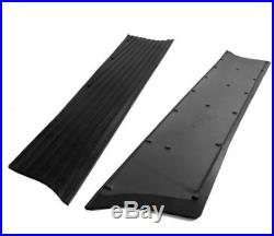 Chevrolet Chevy Running Board Mat / Cover Set Moulded Rubber No Insert 39 1939
