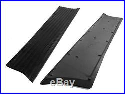 Chevrolet Chevy Running Board Mat / Cover Set Moulded Rubber With Insert 39 1939