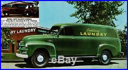 Chevy Chevrolet Pickup Truck / Panel Delivery Running Board Set (Early) 55 1955