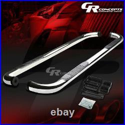 Chrome 3od Nerf Step Bar Running Board For 00-14 Chevy Suburban Gmc Yukon 1500