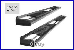 Chrome Running Boards For 15-21 Chevy Colorado GMC Canyon Crew Cab