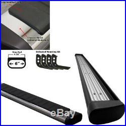 Chrome Straight 4.5 Wide Step Running Board For 07-14 Chevrolet Suburban 1500