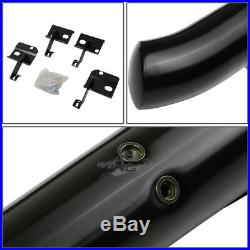Coated Bolt-on 3side Step Nerf Bar/rail Running Board For 09-17 Traverse/acadia