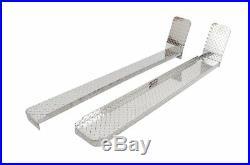 Dee Zee 6 Brite-Tread Silver Running Boards for 09-18 Chevy/GMC #DZ1034