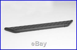 Dee Zee- 6 NXt Cab Length Black with Black Trim Running Boards #DZ16301