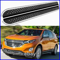 Door Side Step Running Board Nerf Bar Fit for Chevrolet Chevy Equinox 2018-2021