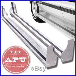 FITS 97-14 Express Savanna 155 WB PAIR Aluminum Side Steps Running Boards 6