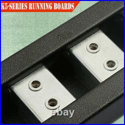 Fit 07-18 Silverado/Sierra Regular Cab 5 Nerf Bar Running Board Side Step BLK H