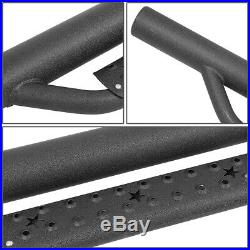 Fit 07-19 Silverado Sierra 1500 2500HD Extended Cab Running Board Nerf Step Bar