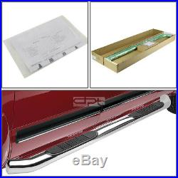 Fit 09-17 Traverse/Acadia Gm Lambda Chrome 3 Side Step Nerf Bar Running Board