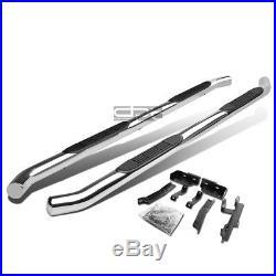 Fit 10-16 Chevy Equinox/Gmc Terrain Chrome 3 Side Step Nerf Bar Running Board