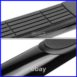Fit 10-17 Chevy Equinox/Gmc Terrain Suv Black 3Side Step Nerf Bar Running Board