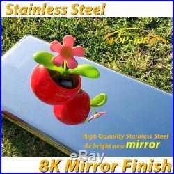 Fit 14-18 SILVERADO SIERRA DOUBLE CAB 5 NERF BAR RUNNING BOARD SIDE STEP S/S H