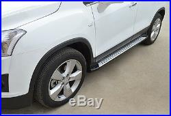 Fit Chevrolet Chevy Holden TRAX 2013-17 Side Step Running Board Nerf Bar Iboard