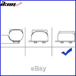 Fits 04-13 Chevy Silverado Crew Cab 5inch Side Step Bar Running Boards Black