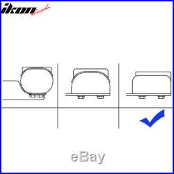 Fits 04-13 Chevy Silverado Crew Cab 5inch Side Step Bar Running Boards SS Chrome
